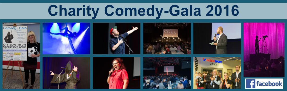 Charity Comedy-Gala in Jena 2016